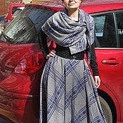Одежда ручной работы. Ярмарка Мастеров - ручная работа Комплект осенний теплый  юбка шарф. Handmade.