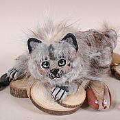 Дух-помощник ручной работы. Ярмарка Мастеров - ручная работа ИЩЕТ ДОМ! Хранитель, рысевидный кот Тамаши. Handmade.