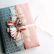 Канцелярские товары handmade. Livemaster - original item A notebook. Handmade.