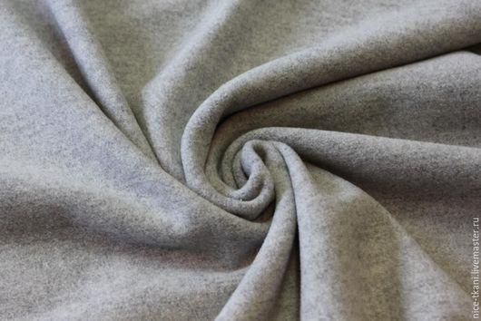 """Шитье ручной работы. Ярмарка Мастеров - ручная работа. Купить 17901 итальянская пальтовая ткань """"Гейнсборо"""". Handmade. Серый"""