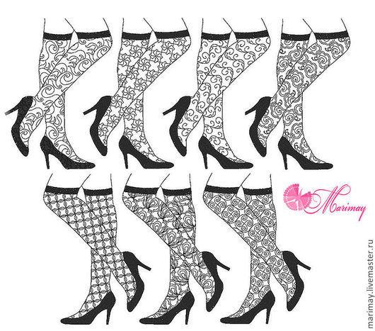"""Вышивка ручной работы. Ярмарка Мастеров - ручная работа. Купить Дизайны машинной вышивки """"Ах, эти ножки!"""". Handmade. Дизайн"""