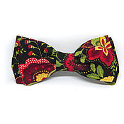 Аксессуары handmade. Livemaster - original item Tie in the Russian style (Khokhloma). Handmade.
