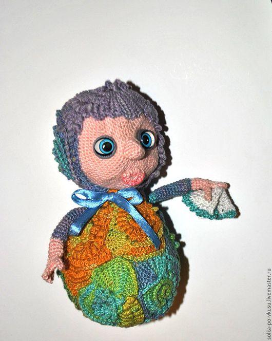 Человечки ручной работы. Ярмарка Мастеров - ручная работа. Купить Куколка Валяшка. Handmade. Комбинированный, фриформ вязание, подарок девочке