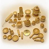Куклы и игрушки handmade. Livemaster - original item Set of dinnerware (pawns) 27 items. Handmade.