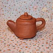 Посуда ручной работы. Ярмарка Мастеров - ручная работа Чайник для китайского чая. Handmade.