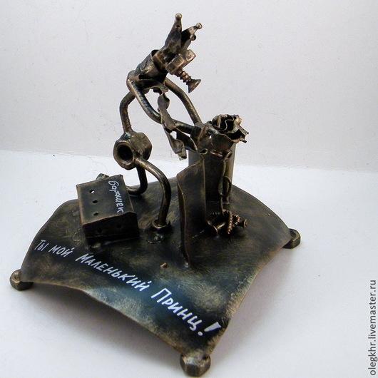 Миниатюрные модели ручной работы. Ярмарка Мастеров - ручная работа. Купить Маленький принц. Handmade. Скульптурная миниатюра, металл