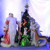 Куклы и игрушки ручной работы. Ярмарка Мастеров - ручная работа Новогодняя сказка. Handmade.