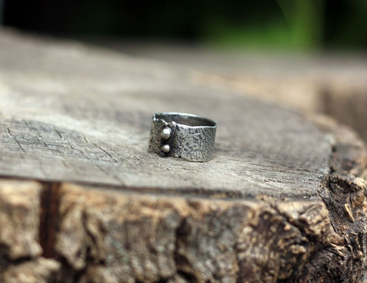 """Кольца ручной работы. Ярмарка Мастеров - ручная работа. Купить кольцо """"Старое"""", серебро. Handmade. Серебряный, стильное кольцо, серебро"""