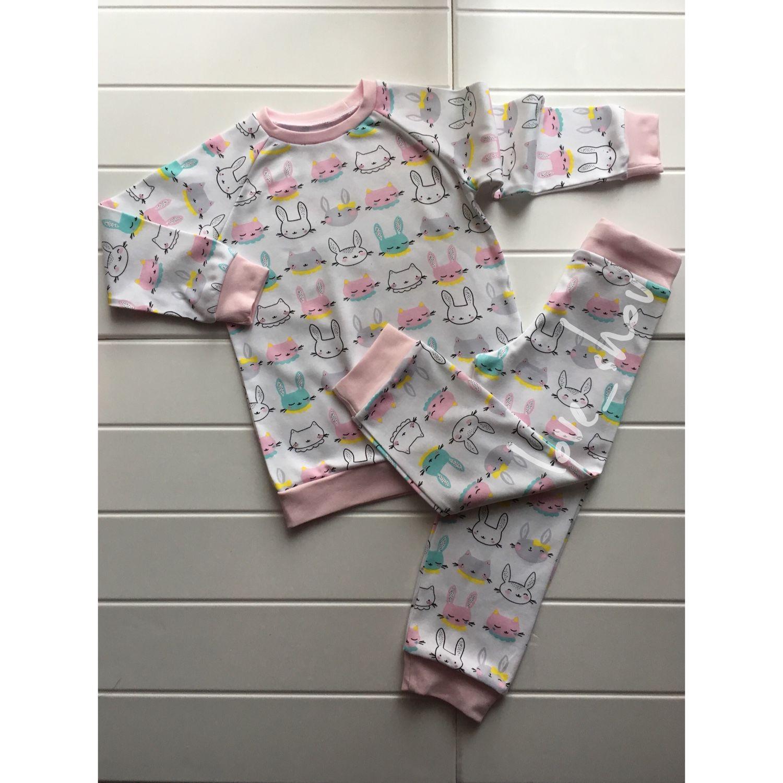 Купить Пижама детская · Одежда для девочек, ручной работы. Пижама детская.  love shov. bcbbdace510