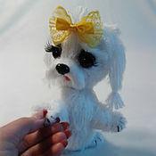 Куклы и игрушки handmade. Livemaster - original item Knitted dog. Handmade.