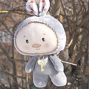 Куклы и игрушки ручной работы. Ярмарка Мастеров - ручная работа Заинька, серенький. Handmade.