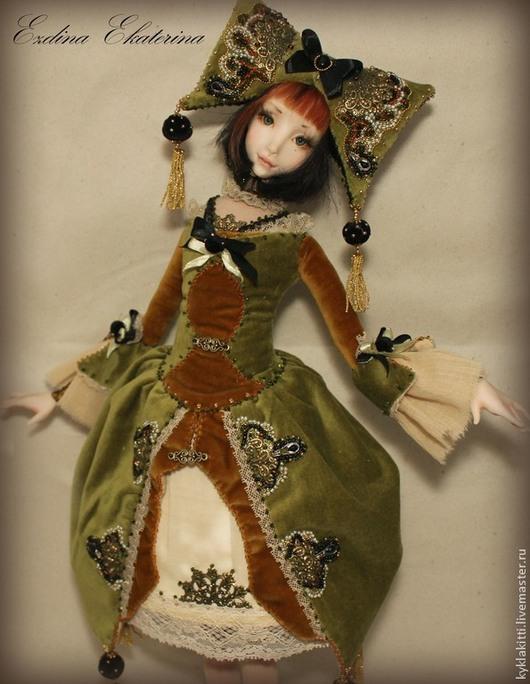 Коллекционные куклы ручной работы. Ярмарка Мастеров - ручная работа. Купить Куколка Тутси (2). Handmade. Разноцветный, фимо