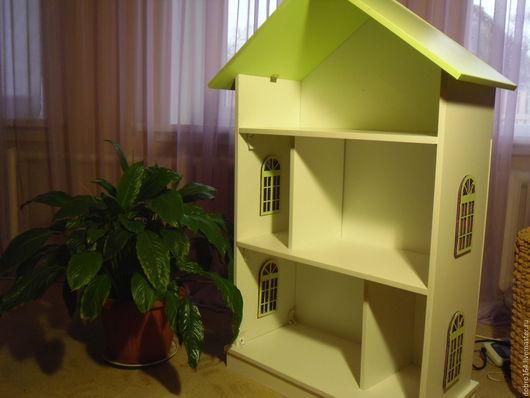 Кукольный дом ручной работы. Ярмарка Мастеров - ручная работа. Купить кукольный  дом ЗЕЛЕНЫЙ БАРХАТ  № 12. Handmade.