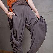 Одежда handmade. Livemaster - original item S_043 Sewn pants Crazy Legs, gray color. Handmade.