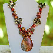 Украшения handmade. Livemaster - original item Necklace made of Jasper