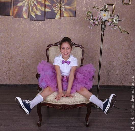 Одежда для девочек, ручной работы. Ярмарка Мастеров - ручная работа. Купить Пышная юбочка американка на заказ. Handmade. Комбинированный