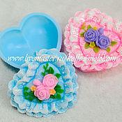 Материалы для творчества handmade. Livemaster - original item Silicone molds for soap Box lace. Handmade.