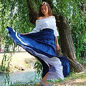 Одежда handmade. Livemaster - original item Boho skirt summer