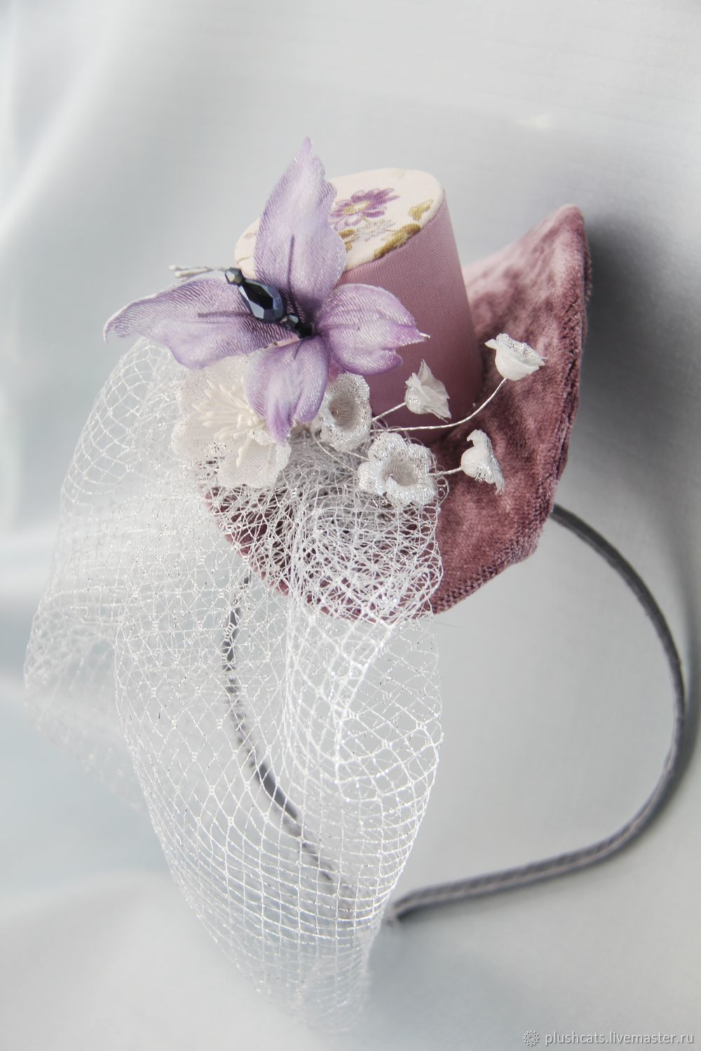 Mini hat ' Spring ringing', Hats1, Moscow,  Фото №1
