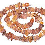 Работы для детей, handmade. Livemaster - original item Medicinal beads made of raw amber.. Handmade.