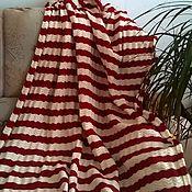 Для дома и интерьера ручной работы. Ярмарка Мастеров - ручная работа Плед-покрывало. Handmade.