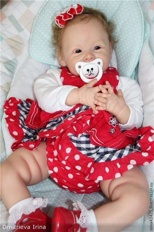 Куклы-младенцы и reborn ручной работы. Ярмарка Мастеров - ручная работа. Купить Кукла реборн Виктория из молда Харпер.. Handmade.