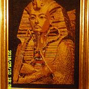 """Картины и панно ручной работы. Ярмарка Мастеров - ручная работа Вышивка крестом """"Воспоминания о Египте"""". Handmade."""