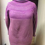 Одежда ручной работы. Ярмарка Мастеров - ручная работа Бесшовный пуловер. Handmade.