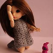 Куклы и игрушки ручной работы. Ярмарка Мастеров - ручная работа Платье и сапожки для Пукифи. Handmade.