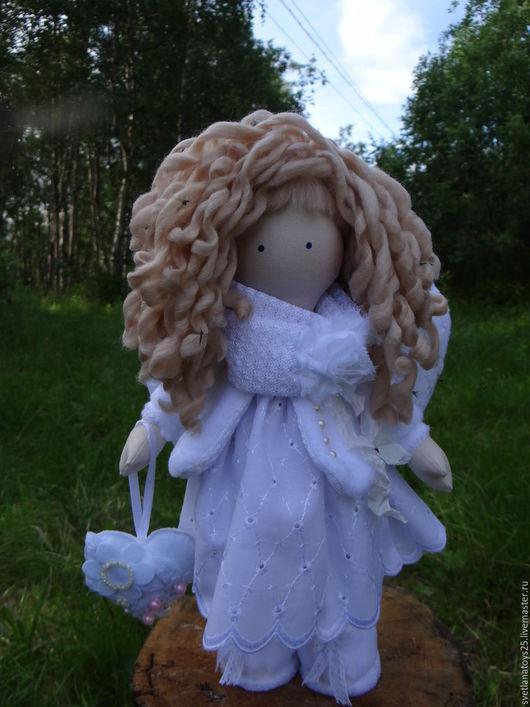текстильная кукла белый ангел с крыльями, кукла тильда ангел, кукла тыквоголовка ангел, кукла ангел купить, кукла девочка ангел, ручная кукла ангел, ангел хранитель, фея, шитые текстильные куклы,
