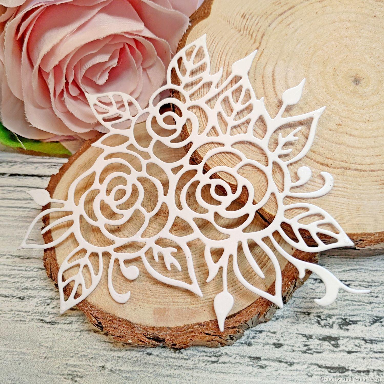 Вырубка для скрапбукинга: ажурные розы, Вырубки для скрапбукинга, Белгород,  Фото №1