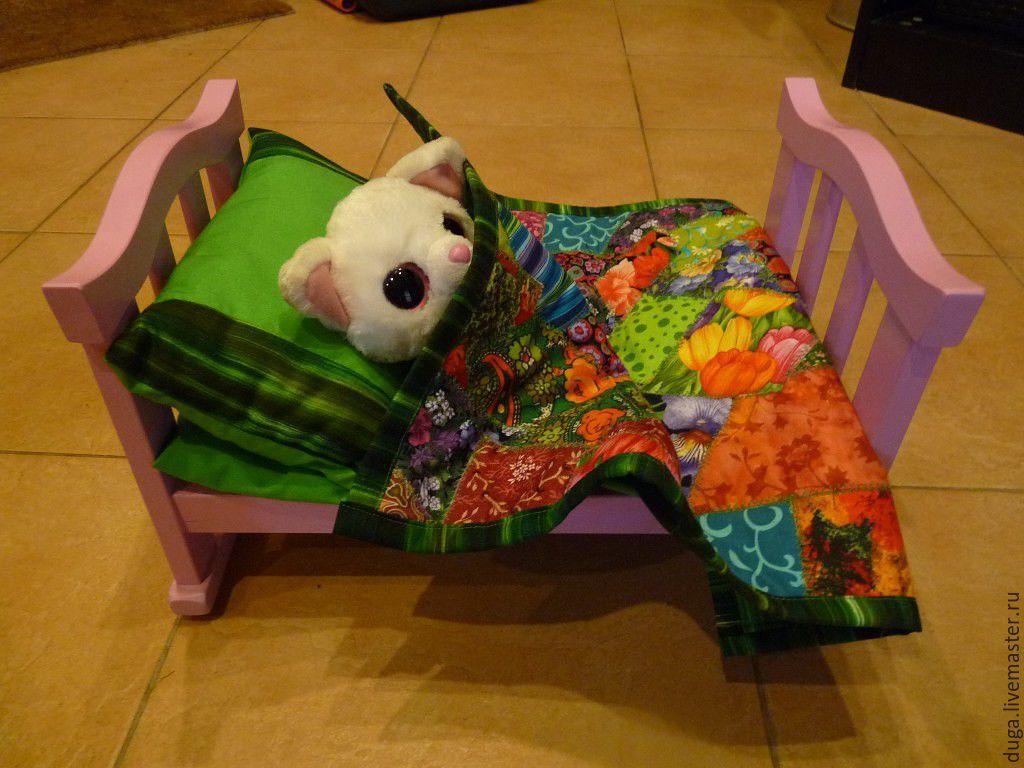 Комплект для кукольной кроватки  «Ляля» № 391, Комплект белья в кроватку, Москва,  Фото №1