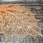 Аксессуары handmade. Livemaster - original item Gail linen shawl. Handmade.