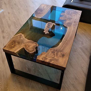 Мебель ручной работы. Ярмарка Мастеров - ручная работа Стол из эпоксидной смолы. Handmade.