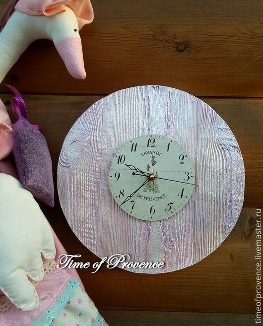 """Часы для дома ручной работы. Ярмарка Мастеров - ручная работа. Купить Часы настенные среднего размера. """"Гламурный винтаж"""".. Handmade."""