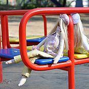 Куклы и игрушки ручной работы. Ярмарка Мастеров - ручная работа беременная феечка. Handmade.