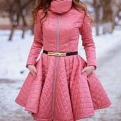 Одежда ручной работы. Ярмарка Мастеров - ручная работа Стеганое пальто. Handmade.