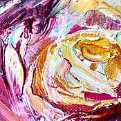 Картины и панно handmade. Livemaster - original item Oil painting with flowers. Roses. Handmade.