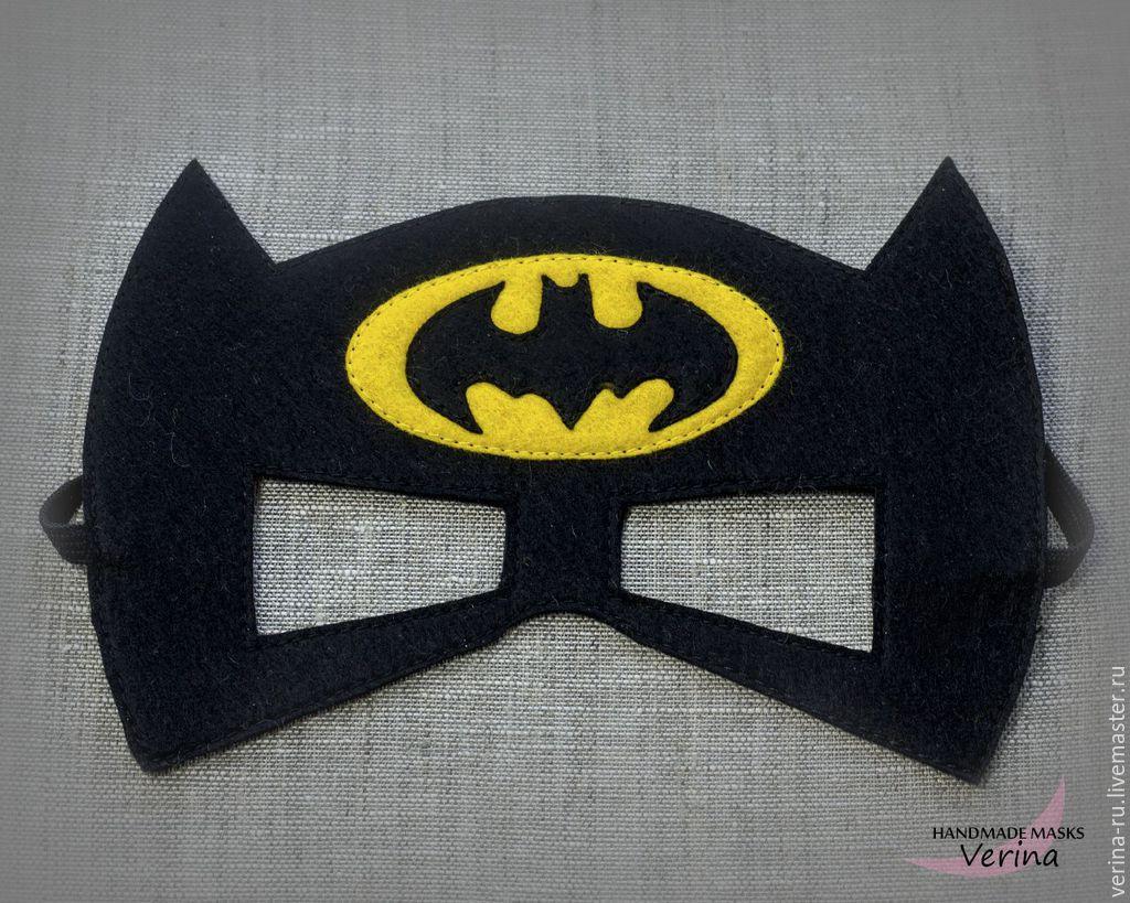 Маска бэтмена своими руками из ткани