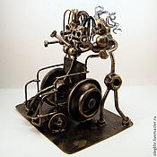 Сувениры и подарки handmade. Livemaster - original item A woman with an iron will. Handmade.