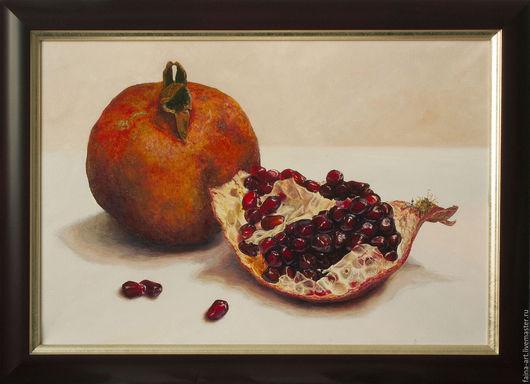 """Натюрморт ручной работы. Ярмарка Мастеров - ручная работа. Купить """"Король фруктов"""", картина маслом, живопись маслом, натюрморт. Handmade."""