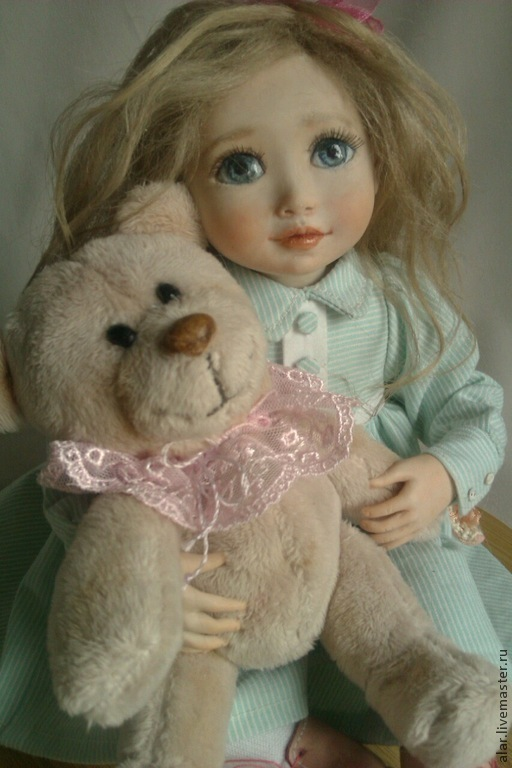 Коллекционные куклы ручной работы. Ярмарка Мастеров - ручная работа. Купить Я расскажу тебе сказку.... Handmade. Кукла