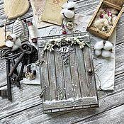 Планеры ручной работы. Ярмарка Мастеров - ручная работа Новогодний блокнот-планер. Handmade.