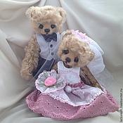 Куклы и игрушки ручной работы. Ярмарка Мастеров - ручная работа Свадебная пара в Бохо стиле. Handmade.