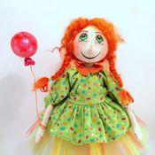 Куклы и игрушки ручной работы. Ярмарка Мастеров - ручная работа Рыжая феечка Зои:). Handmade.