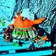 Ароматизированные куклы ручной работы. Евдотья Потрикеевна. Евгения Бочарова (jane72). Ярмарка Мастеров. Деревенька, акриловые краски, ванилин
