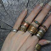 Украшения handmade. Livemaster - original item Rings from Tibet copper. Handmade.