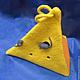 Шапки ручной работы. Ярмарка Мастеров - ручная работа. Купить Кусок сыра. Handmade. Желтый, сыр, треугольник
