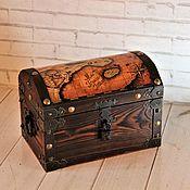 handmade. Livemaster - original item Box: Pirate Chest 2. Handmade.