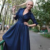 Одежда ручной работы. Ярмарка Мастеров - ручная работа Платье  в пол/платье длинное/платье. Handmade.